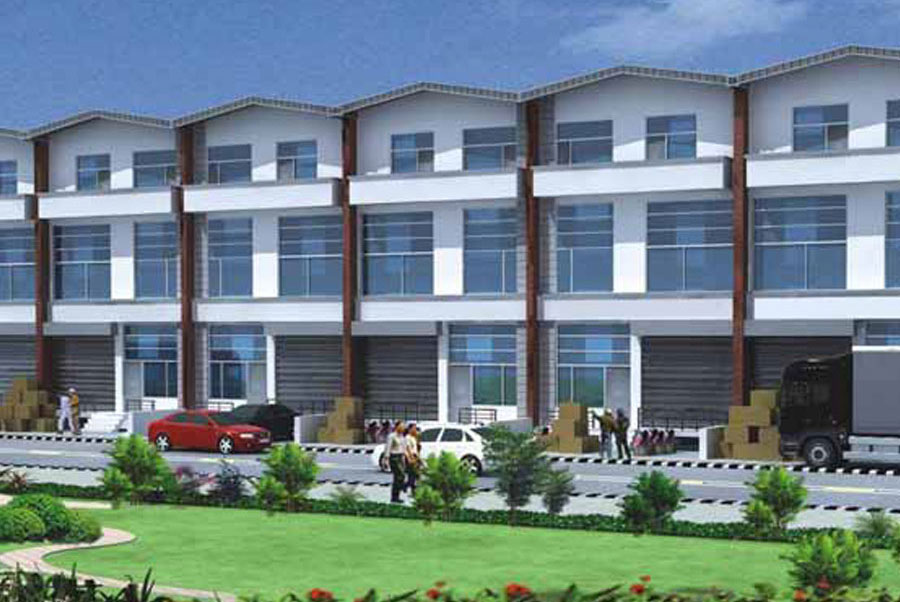 Built Up Industrial Units Mohali